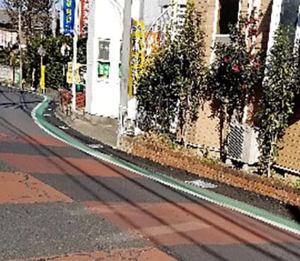 人にやさしい歩道整備(飯山満町3-1588)