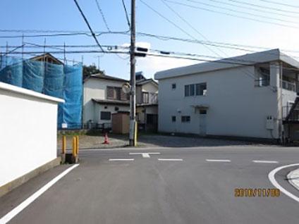 カーブミラー設置(飯山満町2-649)